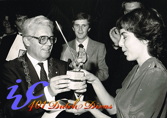 IVC 1983 Judith malafronte Winner photo